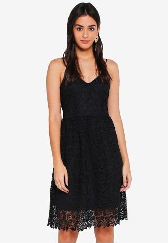 ONLY black Lace Sleeveless Dress 7E8ABAA7335CE9GS_1