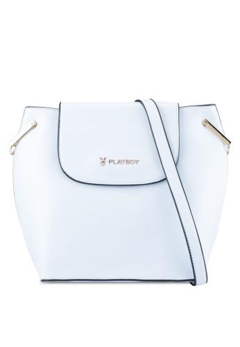 PLAYBOY BUNNY blue Playboy Bunny Ladies Sling Bag PL604AC0SYK0MY_1
