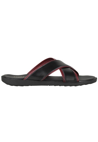 Tomaz red Tomaz C382 Mens Sandals (Red) 64C7DSH5AE379BGS_1