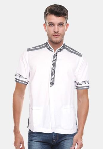 LGS white LGS - Slim Fit - Koko - Motif Bordir Kancing - Putih 9D166AA15C0E21GS_1