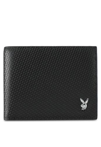 Playboy black Playboy Bi-Fold Wallet PL371AC0SK1BMY_1
