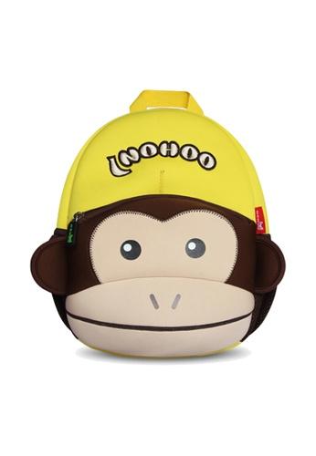Nohoo yellow Nohoo Kids Backpack Monkey (Yellow) EAE37KC16D112CGS_1