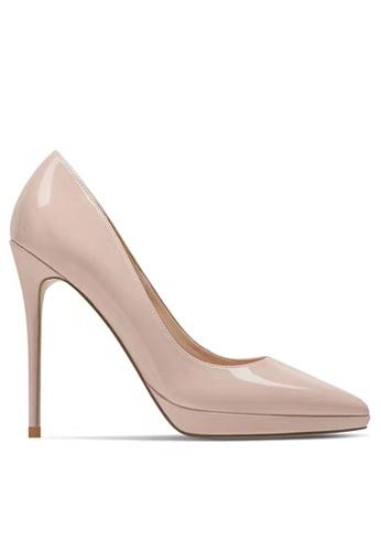 Twenty Eight Shoes 12CM Faux Patent Leather High Heel Shoes DJX24-q BF7F0SHB454914GS_1