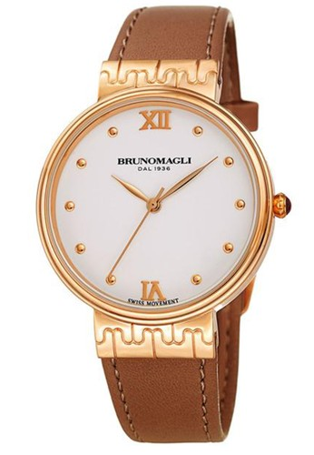 Bruno Magli brown Bruno Magli Isabella 15.181102.RE Jam Tangan Wanita Rose Gold Brown 255F4AC28E2017GS_1