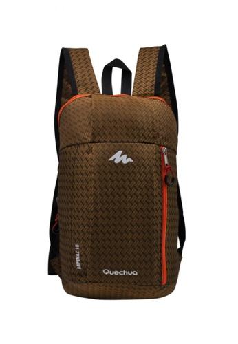 Dooka brown Fashion Casual Backpack DO079AC33ATAPH_1