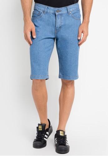 CARVIL blue Bermuda Short Pants CA566AA0URFVID_1
