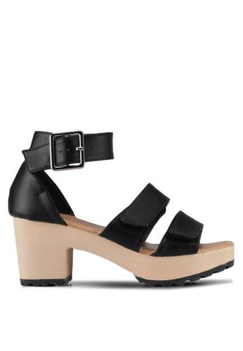 Rubi black Berlin Wood Heels 1D819SHCEC0622GS_1