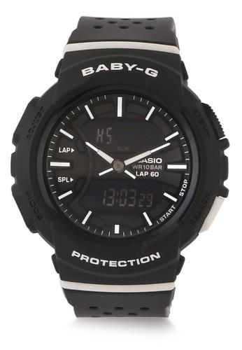 Baby-G black Casio BABY-G Jam Tangan Wanita - Black White - Resin - BGA-240-1A1DR 9C2CAAC031044BGS_1