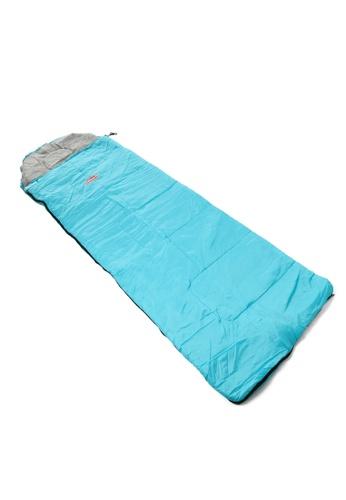 Coleman blue Go! 25°C Sunrise Hooded Sleeping Bag 008B3SEA49D8BDGS_1