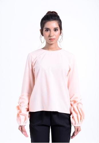 b1b2f97ff0a Colours Thread Clothing Sarah Frills Blouse EF17FAA1D62D41GS 1