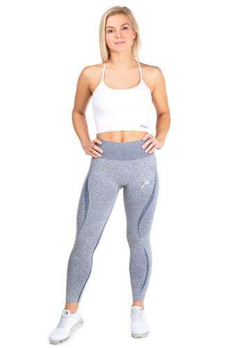 Famme Sportswear blue Famme Sportswear Ensign Blue Elevate Vortex Leggings B2617AA6B97773GS_1