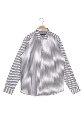 Trendyol purple Long Sleeve Striped Shirt 1C8E9AA360A6BFGS_1