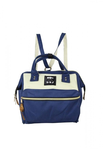 DNJ blue Small Canvas Bag DN487AC33RBAPH_1