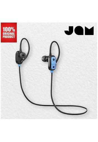 Jam Audio black Earphone Bluetooth Wireless Live Large Jam Audio - Black 4D6E8ESAEDE673GS_1
