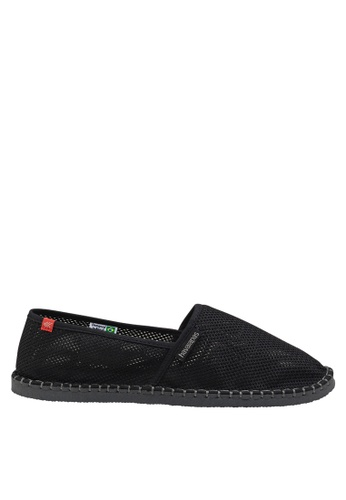 Havaianas black Origine Cool Slip On Sneakers 71A77SH525F5B1GS_1