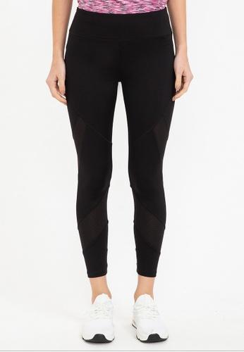 Bossini black Ztay Dry - Sports Leggings B3CD4AA82F290CGS_1