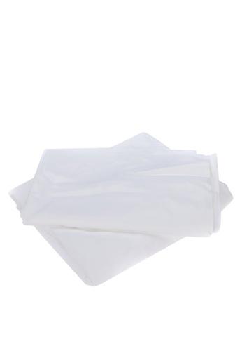 "Linen & Homes white 100% Bamboo 3 Piece White Bedsheet Set - Twin Size (39 x 75 x 16"") 6B013HL312A2F1GS_1"