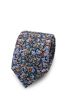 8157e01af1a5 Topman multi Ditsy Floral Jacquard Tie C0F71ACB621671GS_1
