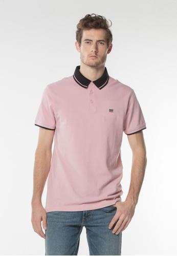 Levi's pink Levis® Breaker Logo Polo 24A4DAAE585145GS_1