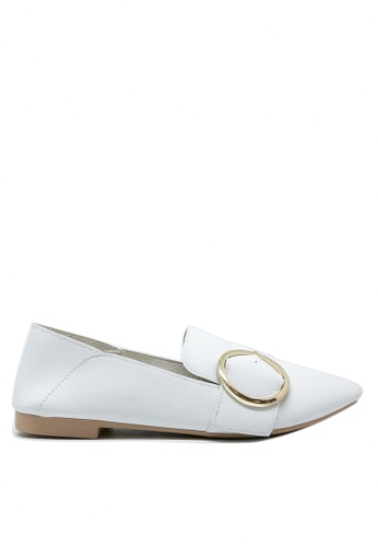 Twenty Eight Shoes white Casual Button Loafers 1140-67 285C2SHDA6EA52GS_1