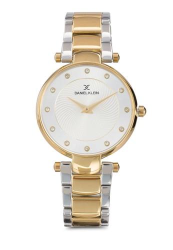 35mm DK11219zalora 內衣-4 纖薄接鏈圓錶, 錶類, 飾品配件