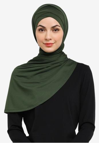 Zalia green Active Shawl AD097AA8CB8474GS_1