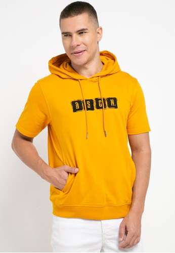 D&F yellow Sweat Shirt S/S Dsgn AD749AA7344972GS_1