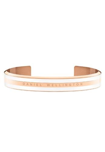 Daniel Wellington gold Classic Bracelet Satin White Rose Gold Medium 5637EACDA6EE09GS_1