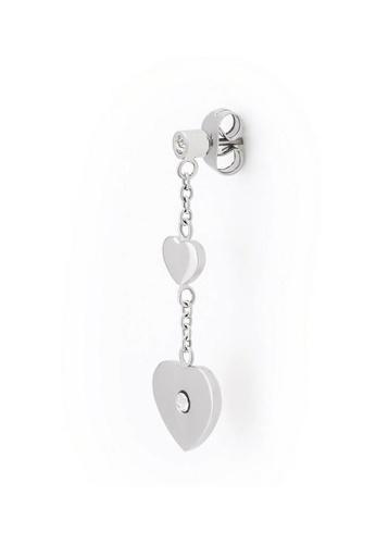 Morellato silver Insieme Earrings SAHM07 Stainless Steel Crystals 05261AC6712B84GS_1