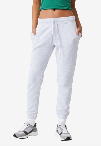 Cotton On silver Slim Fit Track Pants A3386AA63386CCGS_1