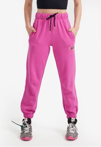 P.E Nation pink Heads Up Track Pants D7F0EAAB3142B3GS_1
