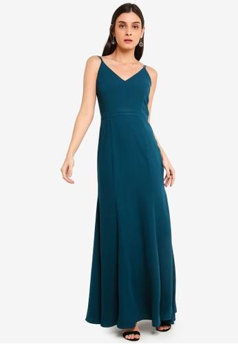 FORCAST green Luciana Maxi Dress 3D0EAAACCF0677GS_1