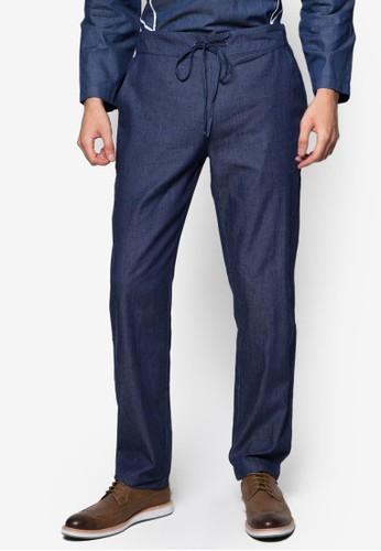 束口休閒長褲, 服飾esprit outlet hk, 男性服飾