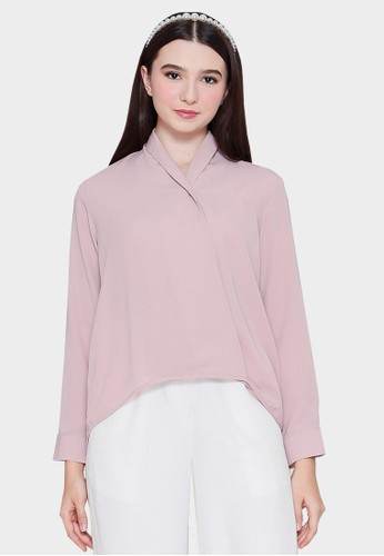 Urban Exchange pink Urban Exchange Clarisse Blouse Pink B8C8CAAFA44169GS_1