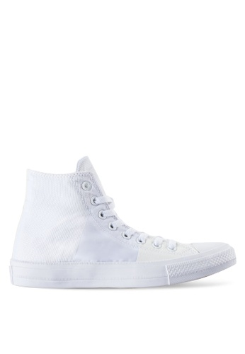 Converse white Chuck Taylor All Star II Sneakers Hi CO302SH52BKPMY_1