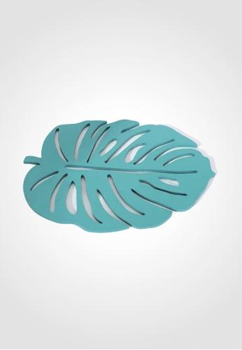 Ayra Home & Living green Green Nordic Style Lasercut Leaf Insulation Coaster 2C38DHL1C6CC8FGS_1