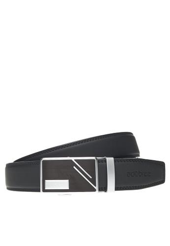 adobree black Adobree Oxisols Col.04 Belt 3.5 R - Silver Black D095DAC412849EGS_1