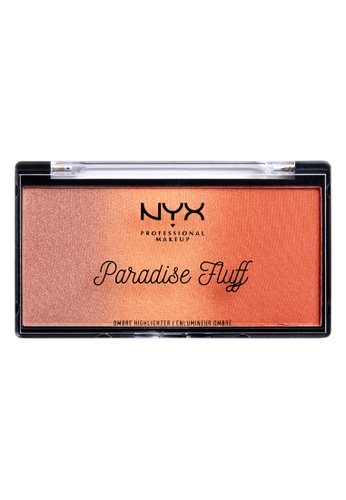 NYX Professional Makeup multi NYX Professional Makeup PARADISE FLUFF OMBRE HIGHLIGHTER - SWEET CUSTARD 5472CBEF57C029GS_1