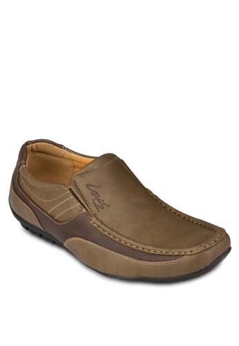 方頭仿皮懶人鞋京站 esprit, 鞋, 鞋