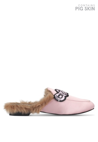 House of Avenues pink Make It Pop Again Slippers E5E13SH8B410C6GS_1