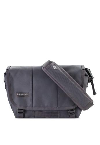 TimBuk2 grey Extra Small Classic Messenger Bag TI112AC96VCLMY_1