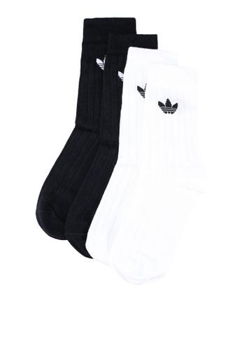 adidas black and white adidas originals mid rib crw 2pp 8ADD3AC807AC8BGS_1