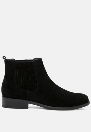 Rag & CO. black Slip on Chelsea Boots RCSH1785 A0BFESHE288166GS_1