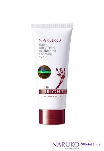 Naruko red Naruko Raw Job's Tears Brightening Foaming Wash 120g NA951BE77UVIPH_1