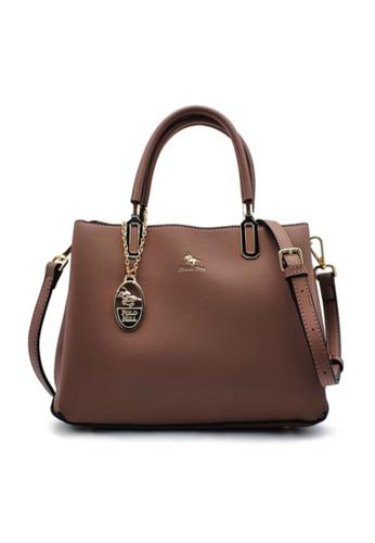 POLO HILL 紫色 POLO HILL Fieble Ladies Top Handle Bag 277C7AC43E9772GS_1