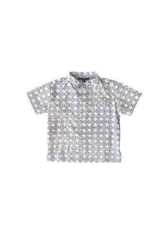 YeoMama Batik blue Windmill Batik Shirt 107B7KA60E6A95GS_1