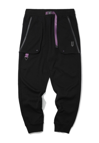 Fivecm black Twill joggers 04902AAEF23317GS_1