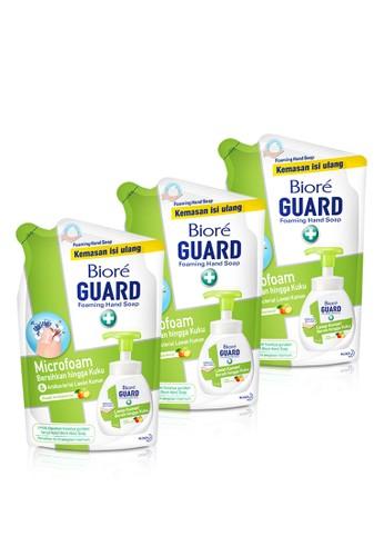 Bioré n/a Biore Hand Soap Fresh Antiseptic Pouch 250 Ml Triple Pack F8109ES7BA18C6GS_1