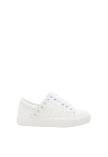 SEMBONIA white Women Synthetic Leather Sneaker 42C14SH64AF195GS_1