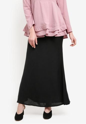BYN black Muslimah Skirt BY059AA0SEAIMY_1